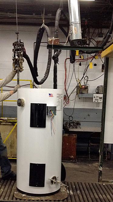 Water Heater Industry / Automatic Urethane Foam Dispensing Gun