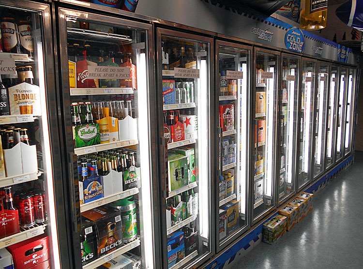 Refrigeration Industry / Refrigerated Show Cases (domestic and commercial) Application